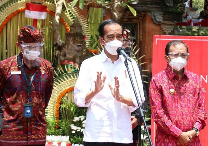 Kunjungan Presiden RI Jokowi by Delapanam Rental Bali - 001
