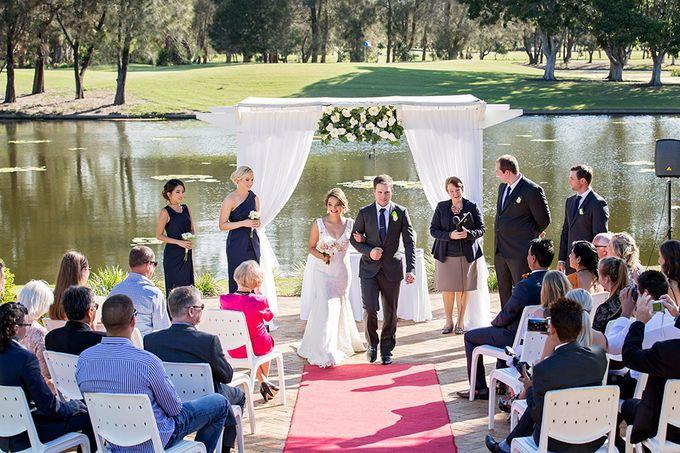 Palmer colonial wedding