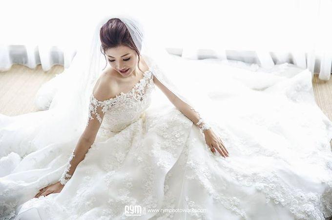 Edward & Winda wedding day by Mimi kwok makeup artist - 001