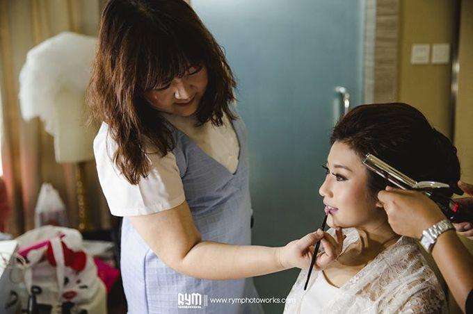 Edward & Winda wedding day by Mimi kwok makeup artist - 009