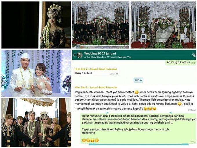 wedding day Dea Jimi by Link Wedding Planner - 001