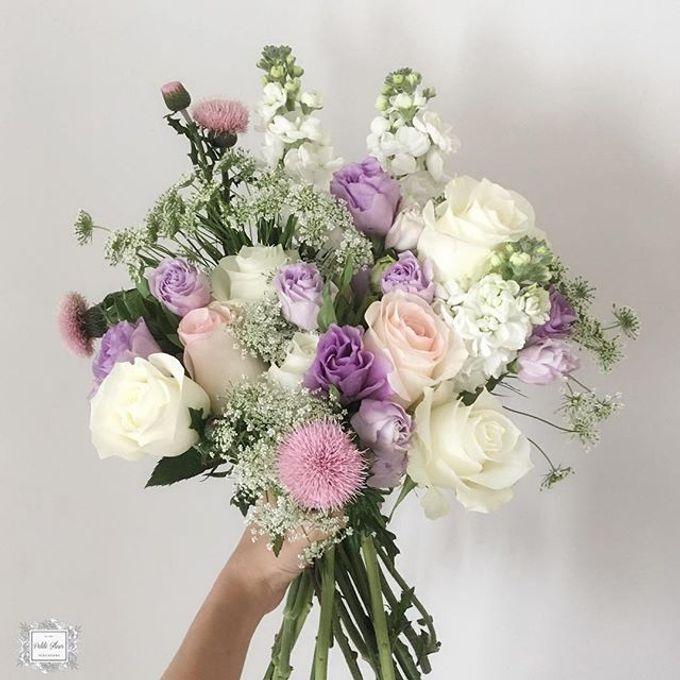 Bridal Hand Bouquet by Petite Fleur SG - 029
