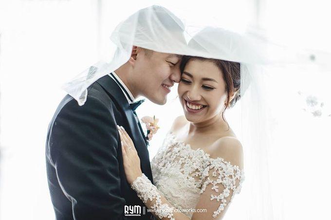 Edward & Winda wedding day by Mimi kwok makeup artist - 006