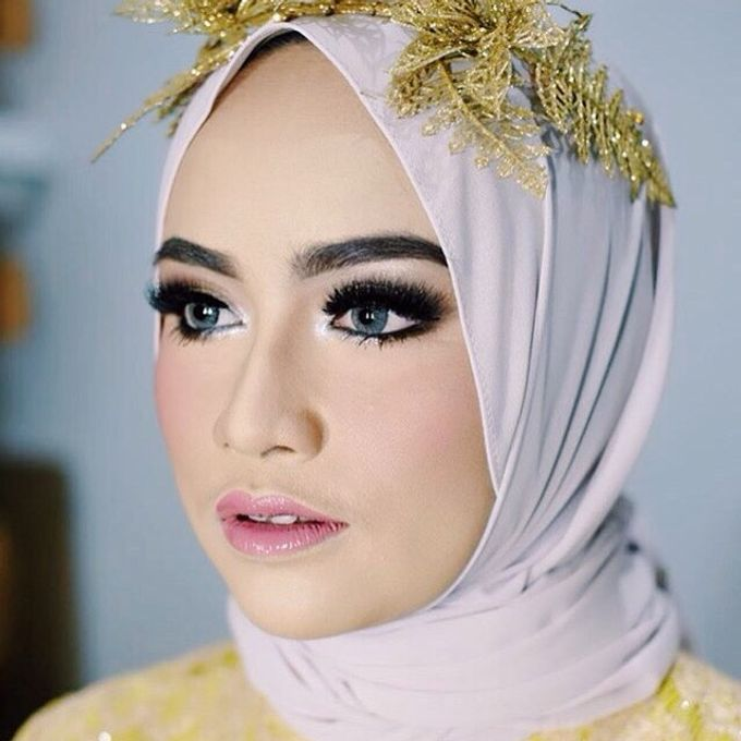 Add To Board Muslim Wedding Makeup for Vica by Makeup By Jelsy - 003