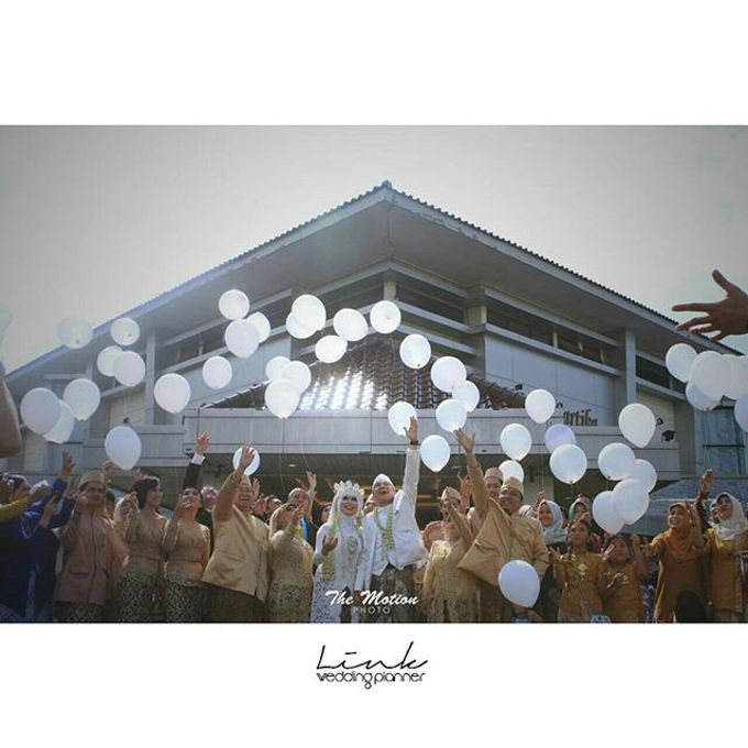 wedding day annisa and fauzan by Link Wedding Planner - 004