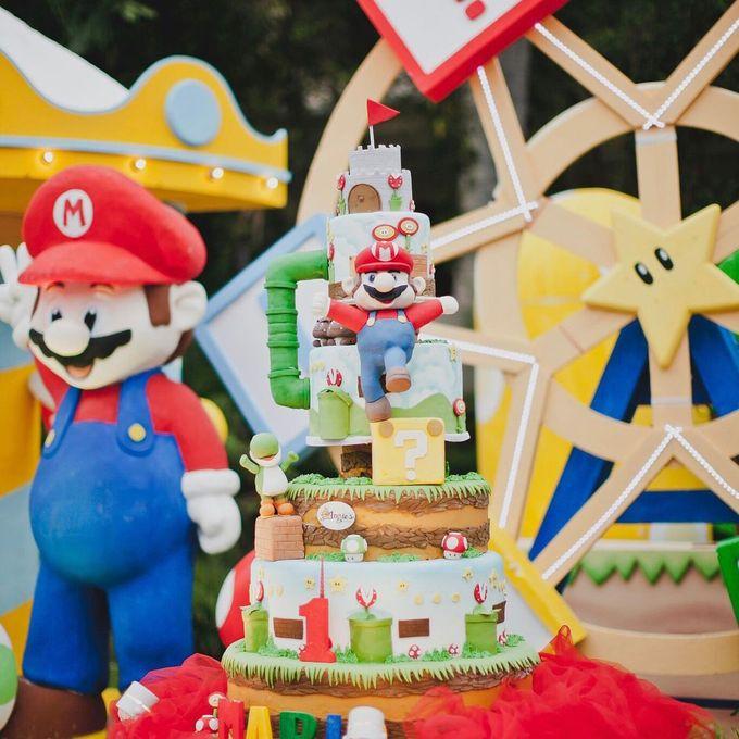 Mario 1st Birthday by Angie's Cake - 003