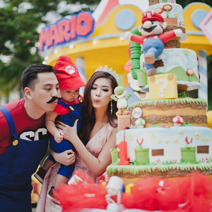 Mario 1st Birthday by Angie's Cake - 002