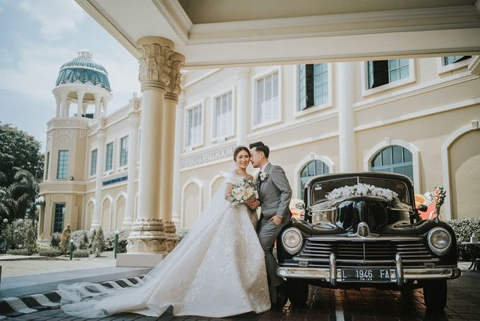 The Wedding Of Brian And Inriani by Angie's Cake - 001