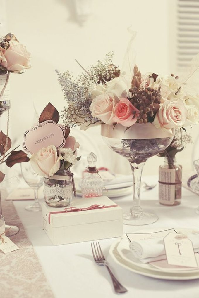 a beautiful dream by Tea Rose Wedding Designer - 008