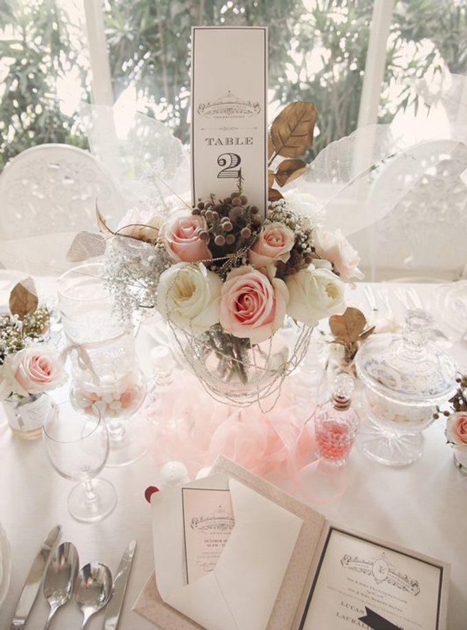 a beautiful dream by Tea Rose Wedding Designer - 021
