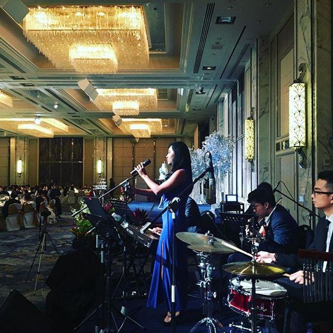 Four Instruments Music at Shangrila Singapore - Anton Honoris & Imelda Wongso Wedding by Shangri-La Hotel Singapore - 004