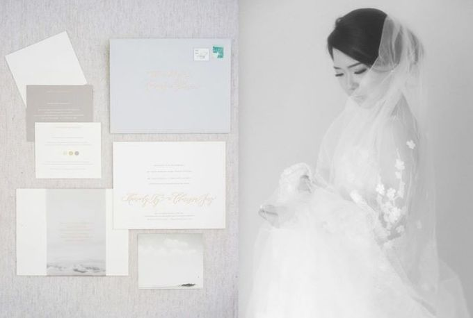 Mariady & Clarissa White Couture Wedding by Flying Bride - 002