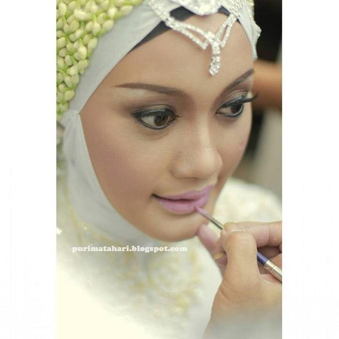 Pengantin Muslim by Puri Matahari Rias Pengantin - 017