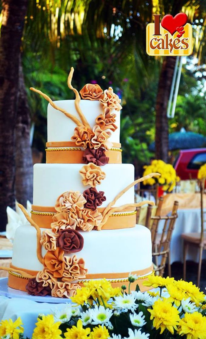 Wedding Cakes by I Love Cakes - 003