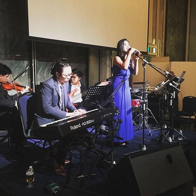 Four Instruments Music at Shangrila Singapore - Anton Honoris & Imelda Wongso Wedding by Shangri-La Hotel Singapore - 003