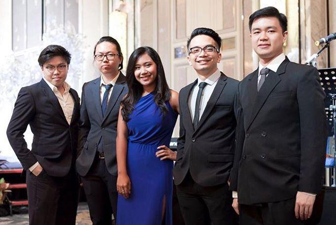 Four Instruments Music at Shangrila Singapore - Anton Honoris & Imelda Wongso Wedding by Shangri-La Hotel Singapore - 002