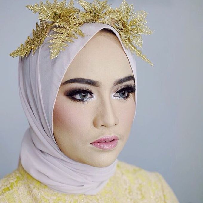 Add To Board Muslim Wedding Makeup for Vica by Makeup By Jelsy - 001