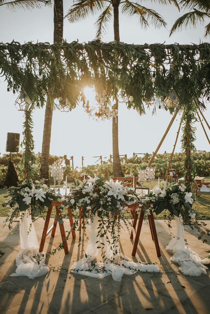 Bali Greenery Rustic with Boho Touch Wedding Decoration by Eurasia Wedding - 012