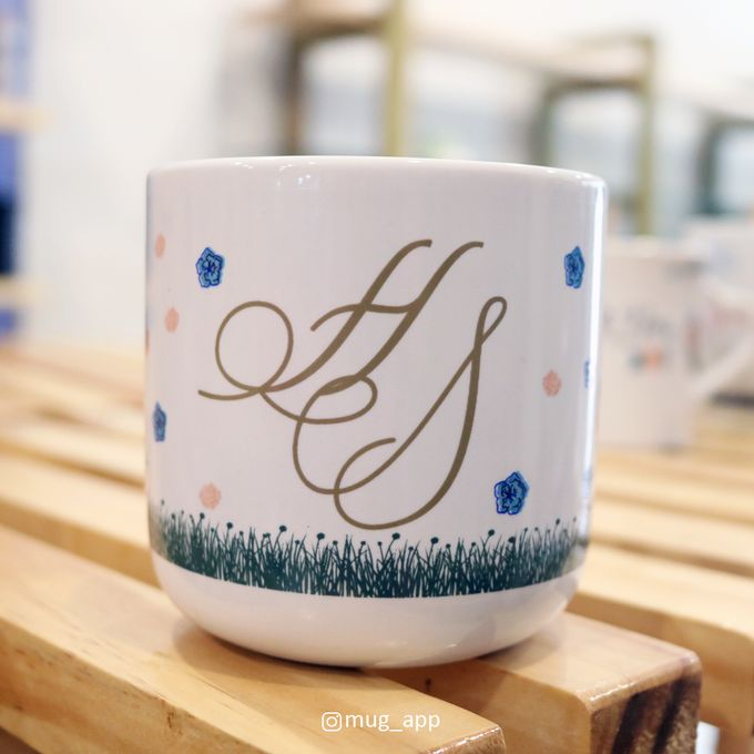 MUG TEA WEDDING H & S by Mug-App Wedding Souvenir - 003