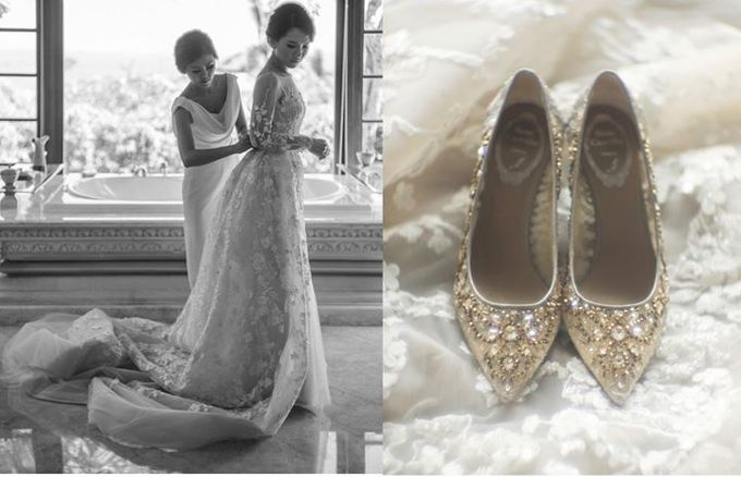 Mariady & Clarissa White Couture Wedding by Flying Bride - 004