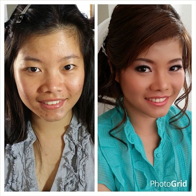 Before and After by Elly Liana Makeup Artist - 019