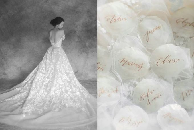 Mariady & Clarissa White Couture Wedding by Flying Bride - 010