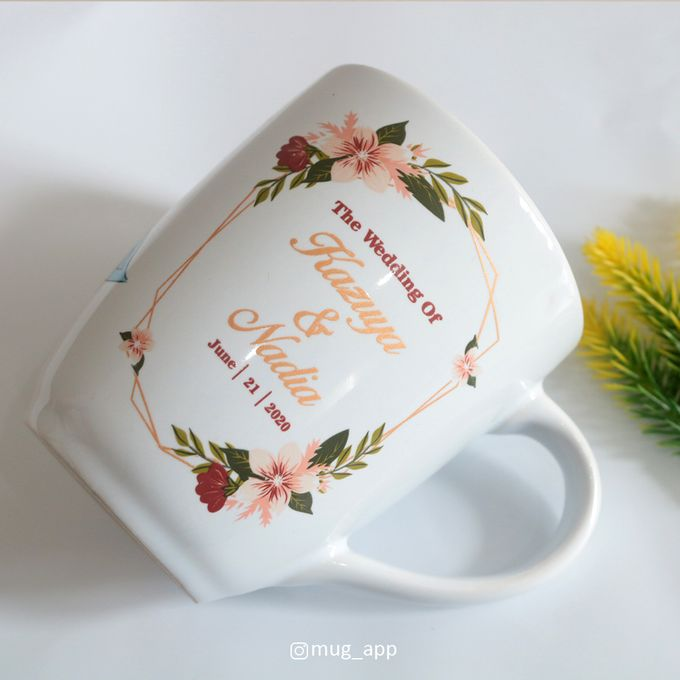 MUG CORNING WEDDING KAZUYA & NADIA by Mug-App Wedding Souvenir - 002