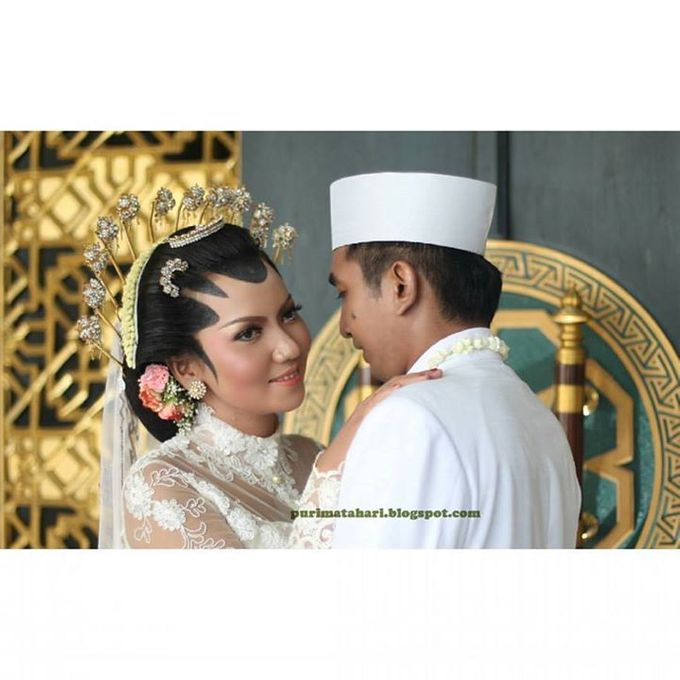 Pengantin Muslim by Puri Matahari Rias Pengantin - 011