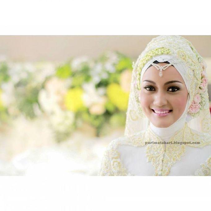 Pengantin Muslim by Puri Matahari Rias Pengantin - 009