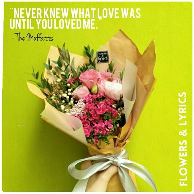 Personal Hand Bouquet by Flowers & Lyrics - 002