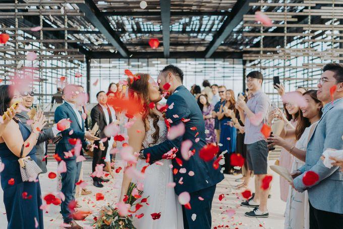 Romantic-Modern Wedding at Alila Uluwatu by Silverdust Decoration - 003