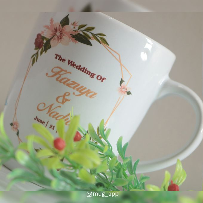 MUG CORNING WEDDING KAZUYA & NADIA by Mug-App Wedding Souvenir - 001