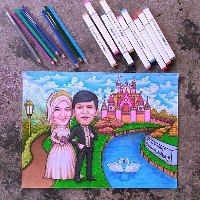 Caricature Drawing by Ramker Studio - 004