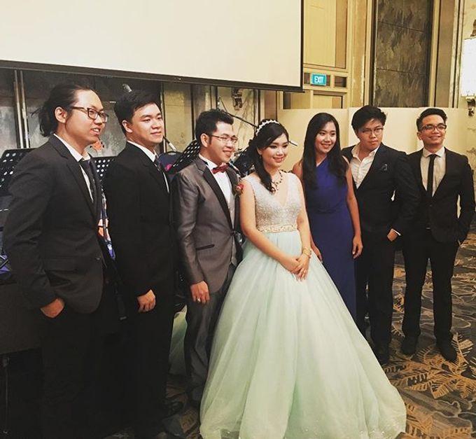 Four Instruments Music at Shangrila Singapore - Anton Honoris & Imelda Wongso Wedding by Shangri-La Hotel Singapore - 001