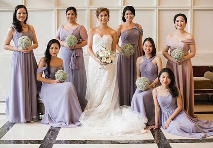 Customized Bridesmaids Dresses by White Label Bridal - 009