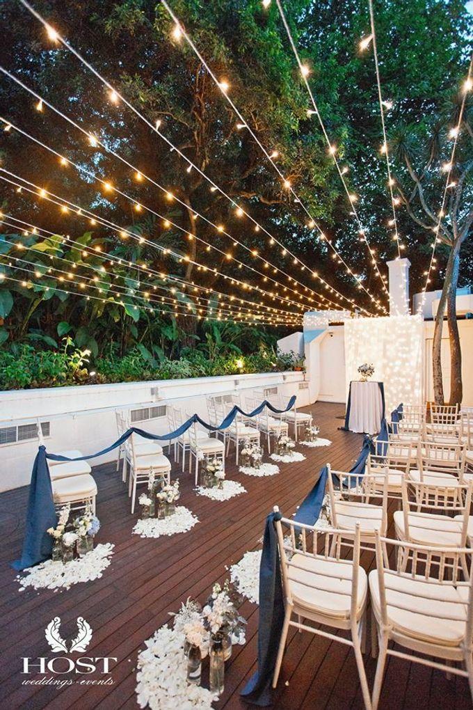 Roof of Stars Solemnisation Wedding by Botanico @ The Garage - 005