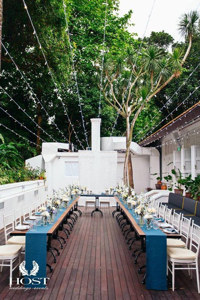 Roof of Stars Solemnisation Wedding by Botanico @ The Garage - 007