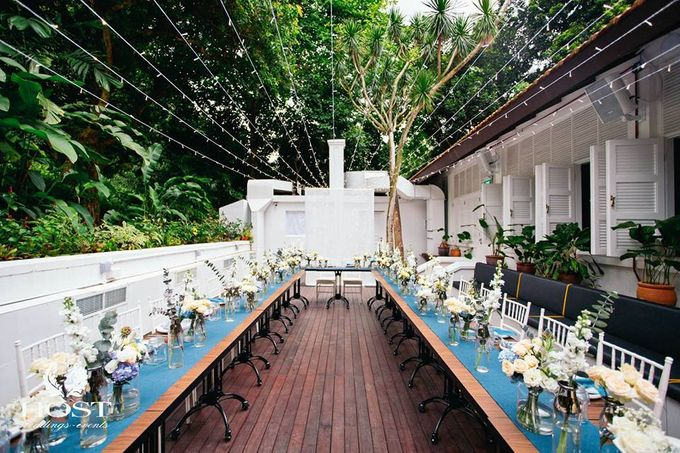 Roof of Stars Solemnisation Wedding by Botanico @ The Garage - 008