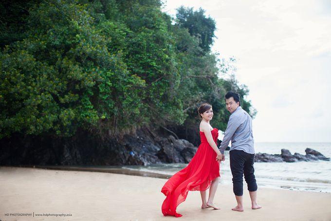 Rizky & Yeni Pre-Wedding by HD Photography - 009