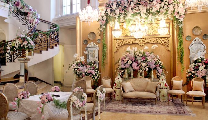 The Wedding of Putri and Luigi by Amarillis Floral and Party Decorator - 004