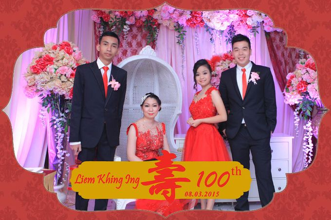 One Hundred Birthday of Liem Khing Ing by After 5 Photobooth - 008