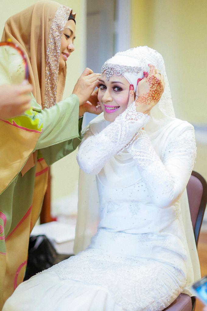 Zuhairah & Fuad by The Rafflesia Wedding & Portraiture - 010