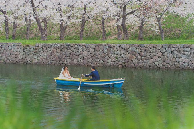 Full Bloom Hokkaido Sakura in Spring-Prewedding Overseas by John15 Photography - 015