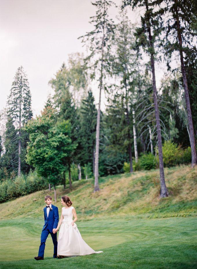 Golf club wedding for Nikolay and Kristina by BMWedding - 016