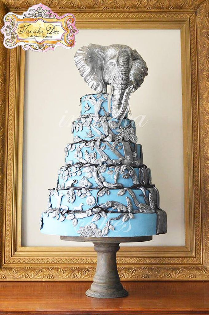 Wedding Cakes by Innicka Dee Cakes - 021