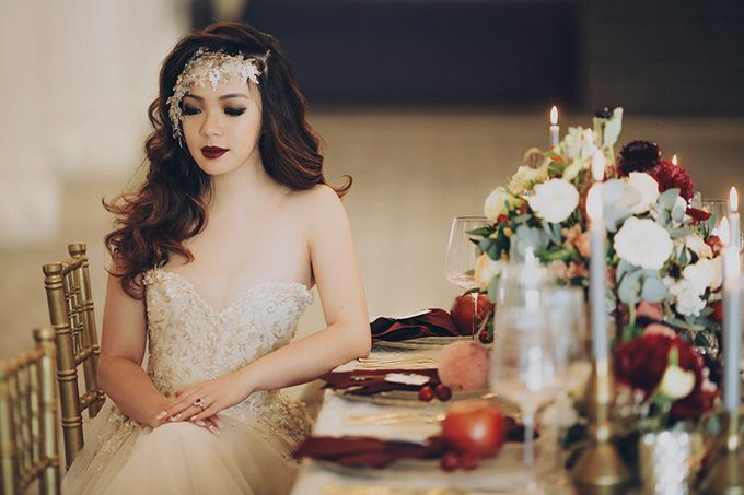 Heirlooms styled shoot by Gioielli Bridal Accessories & Crystal Bouquets - 005
