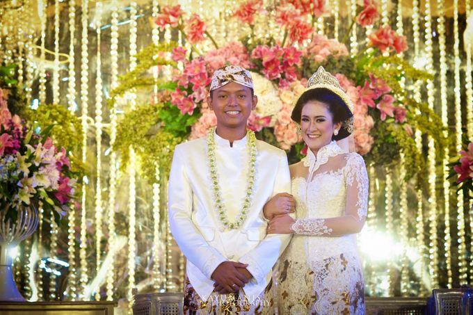 Gessa And Adjie Wedding Ceremony by D&D Professional Make Up Artist & Kebaya By Dindin Nurdiansyah - 016