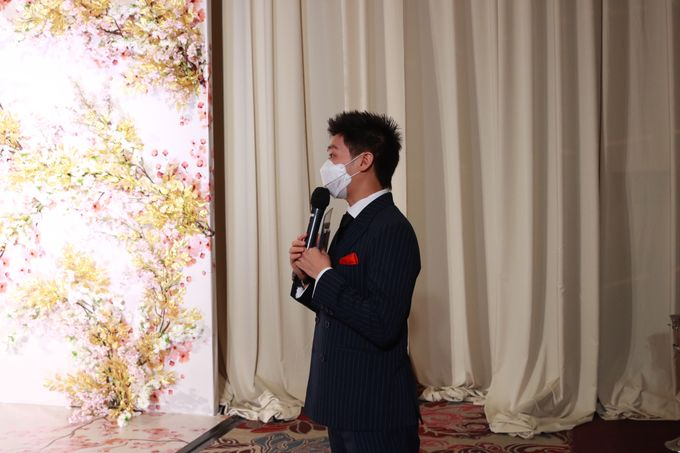 MC Teapai and New Normal Intimate Wedding Fairmont Hotel Jakarta - Anthony Stevven by Anthony Stevven - 006