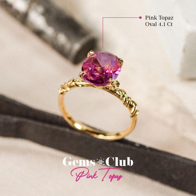 """Gemsclub """"Pink Topaz"""" by Tulola - 006"""