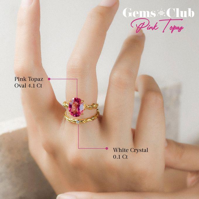 """Gemsclub """"Pink Topaz"""" by Tulola - 007"""